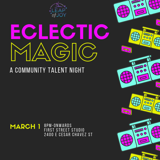 Eclectic Magic- A Bringing-Together of Talent