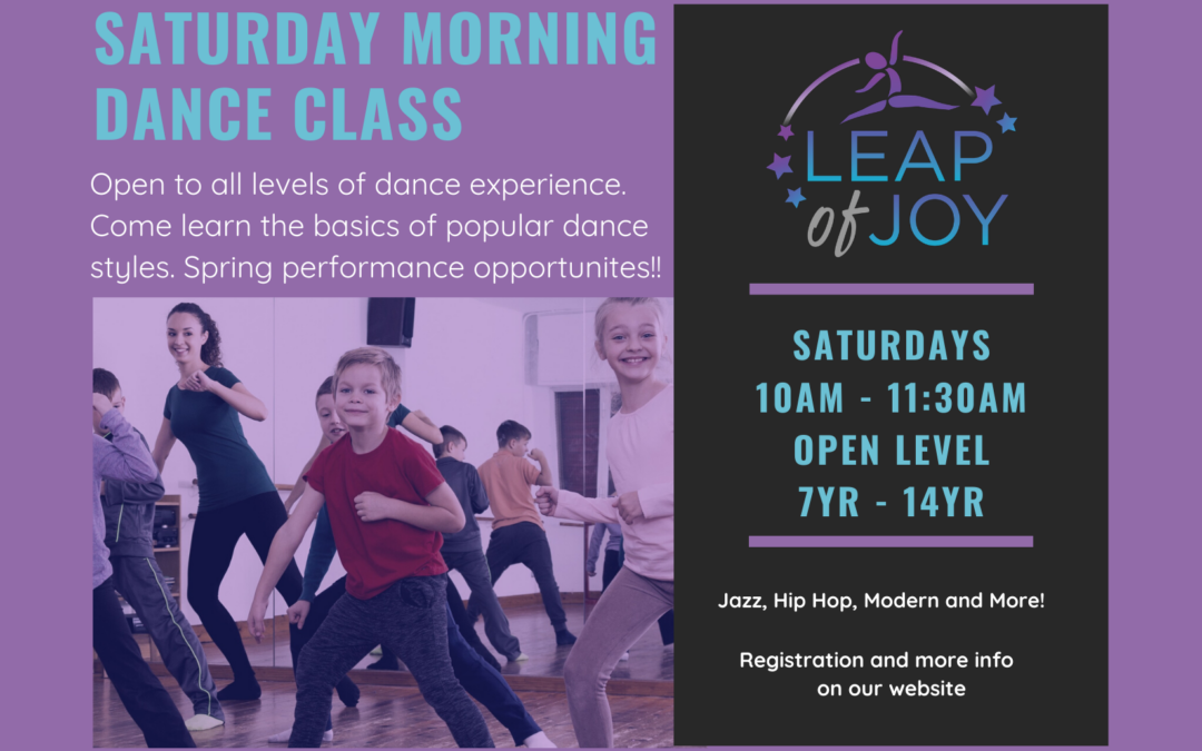 All-City Dance Class with Leap of Joy